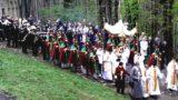 Pasen vier je in Kalwaria vlakbij Krakau